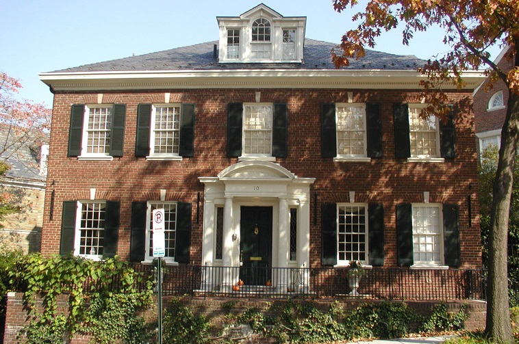 Georgian style architecture facts and history guide to for Architectural styles of american homes