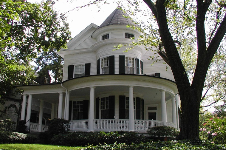 Queen anne architecture queen anne style home design tips for Different house design styles