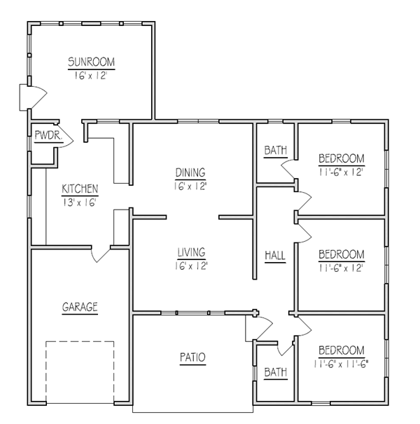 Home additions ideas floor plans house design plans Addition to house plans